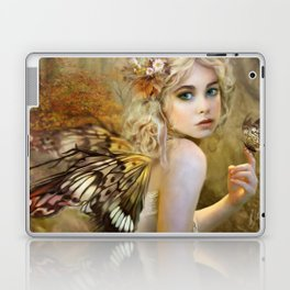 Touch of Gold - Fairy Laptop & iPad Skin