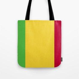 Mali flag emblem Tote Bag