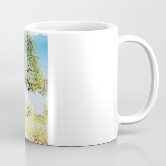 Finding an old friend - elephant in the wild Mug