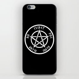 Pentagram iPhone Skin