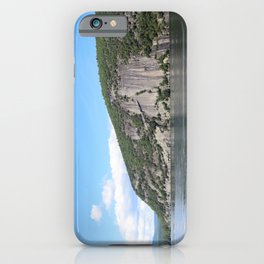 Summer's End: Roger's Rock on Lake George iPhone Case