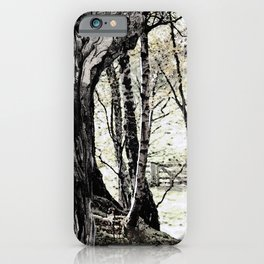 Trees have long thoughts, iPhone Case