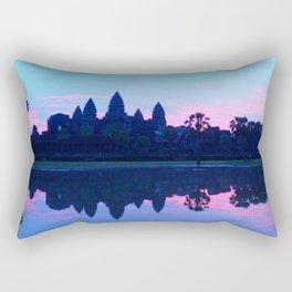 Sunrise at Angkor wat Rectangular Pillow