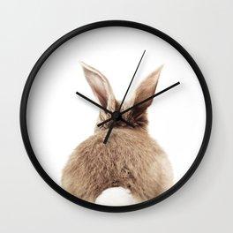 Bunny Back Wall Clock