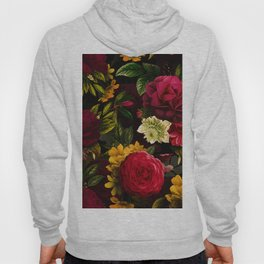 Mystical Night Roses Bouquet Hoody