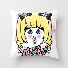 Kyary Pamyu Pamyu 4 T-shirt Throw Pillow