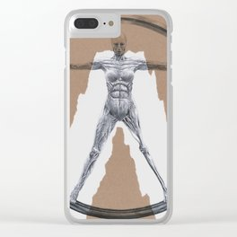Westworld Clear iPhone Case