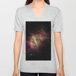 Nebula RCW 49, Milky Way in southern constellation Centaurus Telescopic Photograph Unisex V-Neck