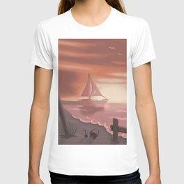 Beach glass T-shirt