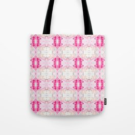 Minty Rose (Abstract Painting) Tote Bag