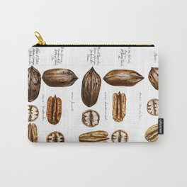 Nuts - Fruit Illustration Carry-All Pouch