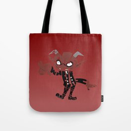 little demon soul eater Tote Bag