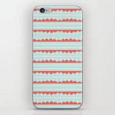 Spots and Strips iPhone & iPod Skin