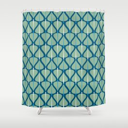 Trees .spring Shower Curtain