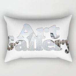 Art Gallery Rectangular Pillow