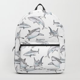 Shark-Filled Waters Backpack
