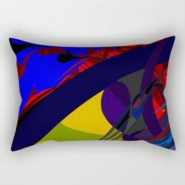 Transcendental Abundance Rectangular Pillow