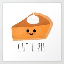 Cutie Pie Art Print