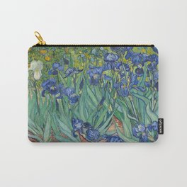 Irises by Van Gogh Carry-All Pouch