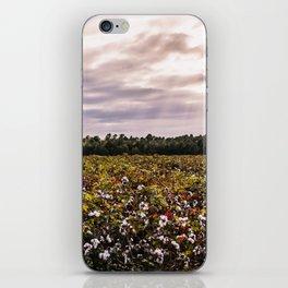 Cotton Field 23 iPhone Skin