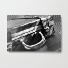 retro business case Metal Print