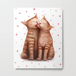 Love kittens Metal Print