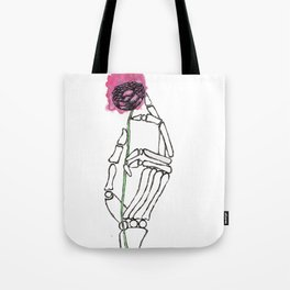 Life in the Hands of Death Tote Bag
