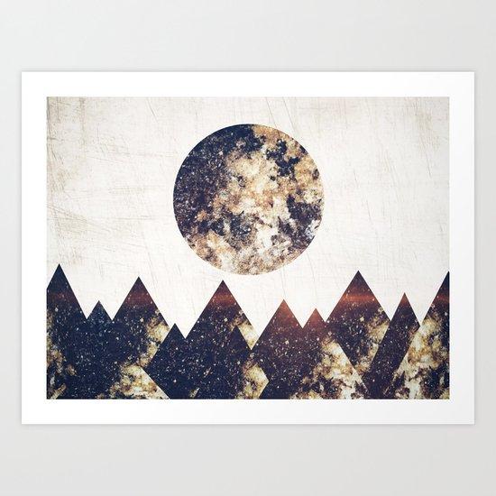moon children Art Print