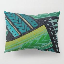 Green Tatau Pillow Sham