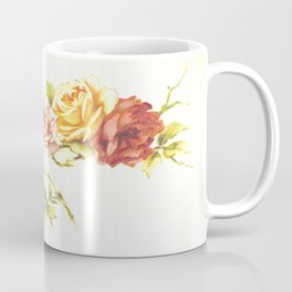 'Rose Leaves' 1898 Coffee Mug