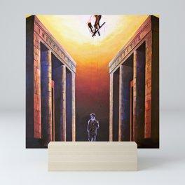 Allo specchio / The mirror Mini Art Print