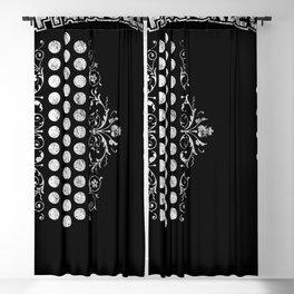 Air Accordion Musical Instrument Blackout Curtain