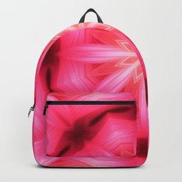 Heart Star Mandala Backpack
