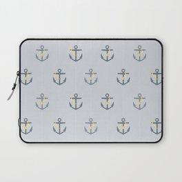 Stormy Nautical Pattern 1 Laptop Sleeve