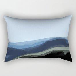 Raining in South Dakota Rectangular Pillow