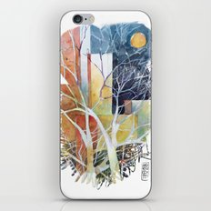 Le torri e la luna iPhone & iPod Skin