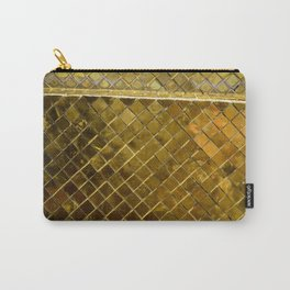 Gold Tile Carry-All Pouch