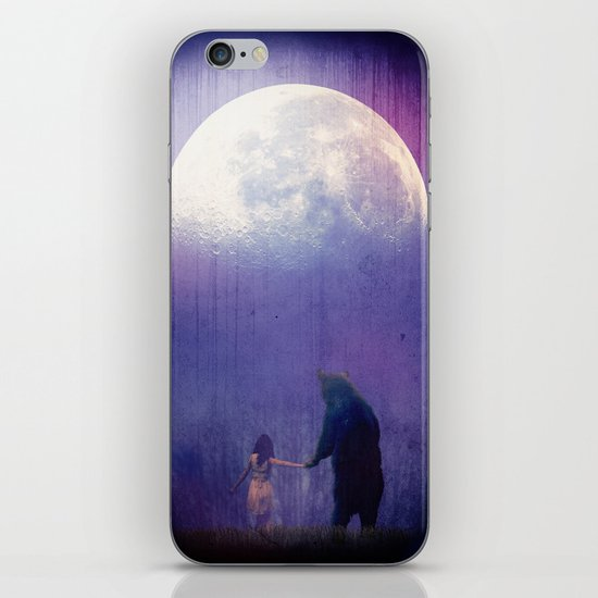 Follow your inner moonlight iPhone & iPod Skin
