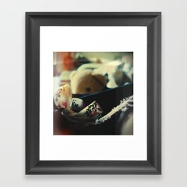 Never get out of bed before noon, 2 Framed Art Print