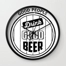 Good Beer Wall Clock