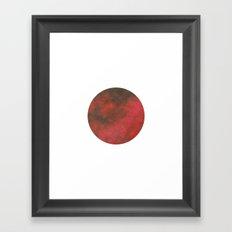 Pl∆net Framed Art Print