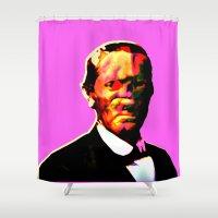 chuck Shower Curtains featuring - chuck - by Digital Fresto