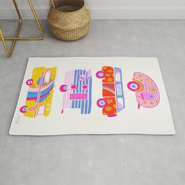 Retro Roadtrip – Candy Palette Rug