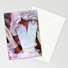 Vintage Gloves & Lace Stationery Cards