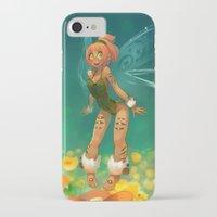 elf iPhone & iPod Cases featuring Elf by xaxaxa