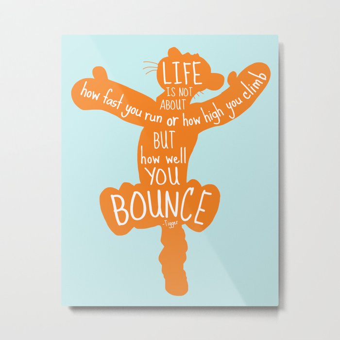 life is about how well you bounce winnie the pooh tigger