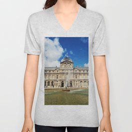 The Louvre Museum Unisex V-Neck