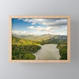 Red Lake, Eldorado National Forest, California Framed Mini Art Print