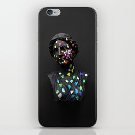 When She Thought of Stars iPhone Skin