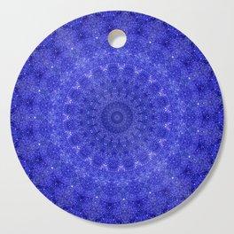 Cosmos Mandala II Cobalt Blue Cutting Board